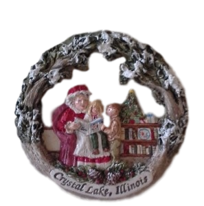 Crystal Lake Holiday Ornament