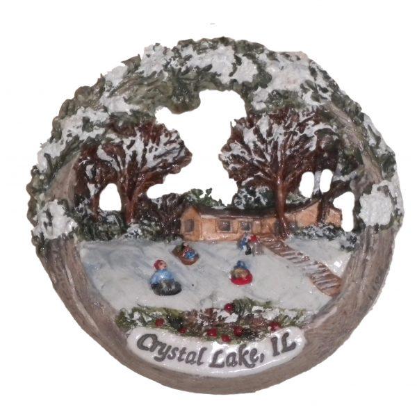 Crystal Lake Holiday Ornament