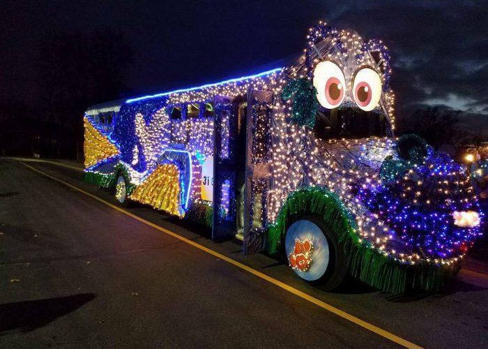 1 - Christmas Car Parade Decorations
